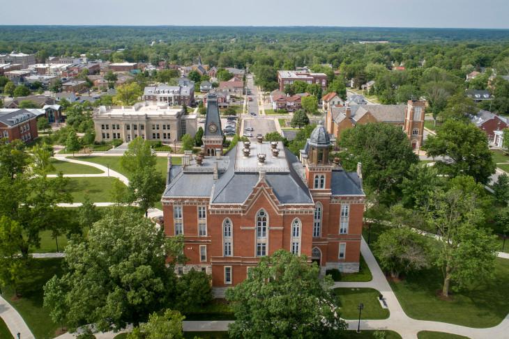 East College via Drone