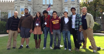 Student Wins 2nd Place for Research Poster; Teams Participate in Programming Contest (Fall 2012)