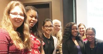 Seven Women Speak at the Indiana Celebration of Women in Computing (InWIC) (Fall 2017)