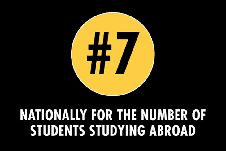 #7 for Study Abroad