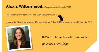 Philosphy Major - DePauw + Kelley Participant