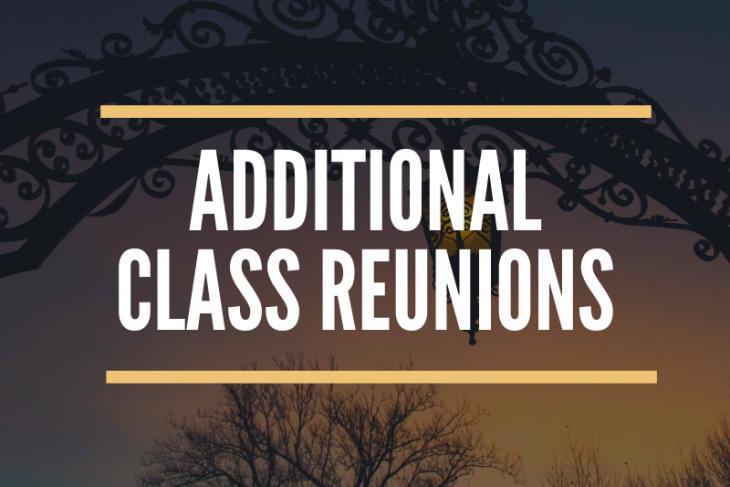 Additional reunion logo
