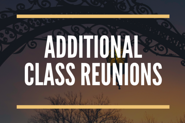 Additional Class Reunions