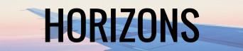 Horizons logo banner