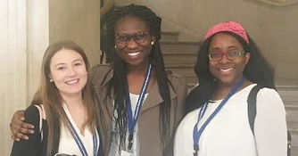 Three Majors Receive Scholarships to Attend TRIWIC (Spring, 2016)
