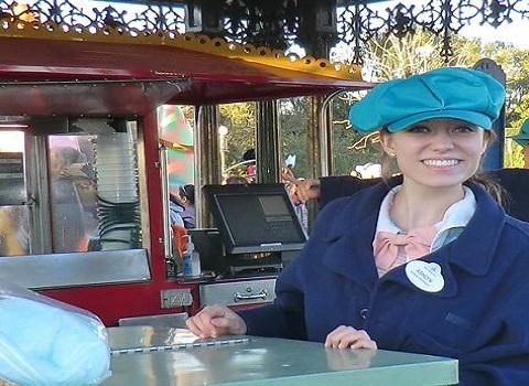 Ashlyn Myers '15 as an intern at Walt Disney World