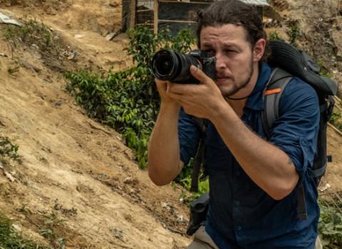 Pulitzer Prize-winning video journalist Ben Solomon '10