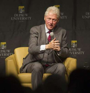 Former President Bill Clinton spoke in November 2011.