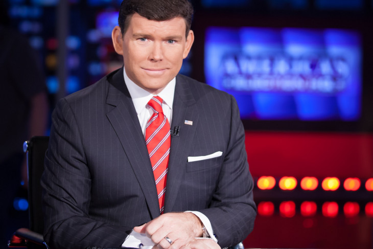"""Bret Baier at the news desk on """"Special Report"""""""