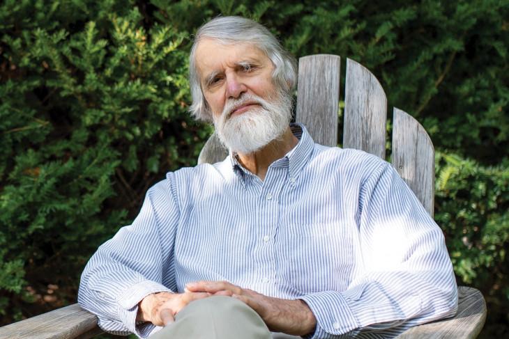 Bruce Stinebrickner, professor emeritus of poli sci