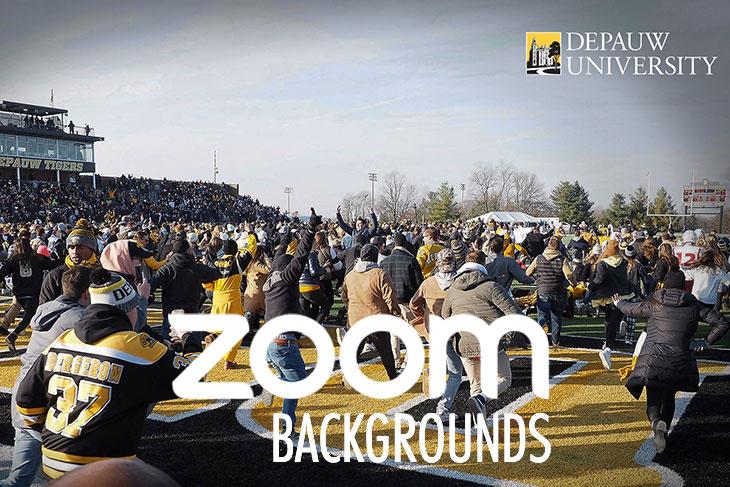 Monon Bell DePauw Zoom Backgrounds