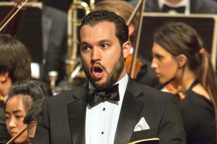 André Campelo, baritone
