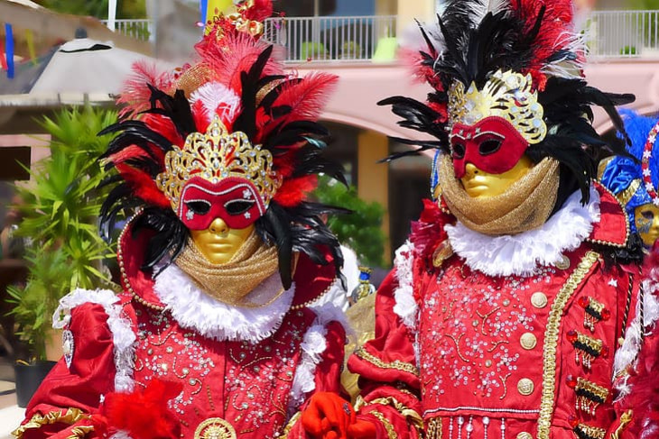 Outfits for the Carnival of Venice