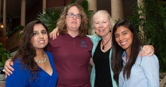 Three Students and Professor Attend National Leadership Conference (Fall, 2013)