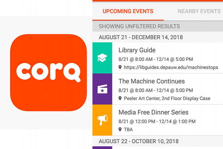Phone App CORQ