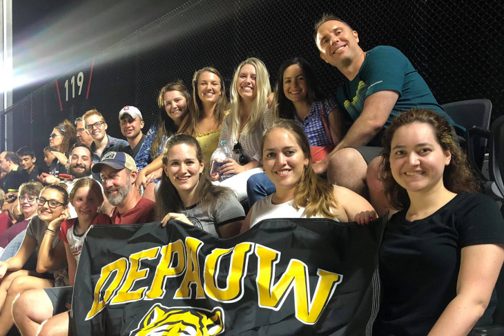 DePauw DC Alumni at DC United Soccer Game