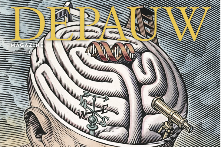 Cover of DePauw Magazine