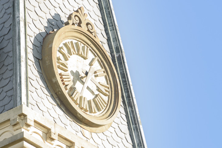 East College clock tower