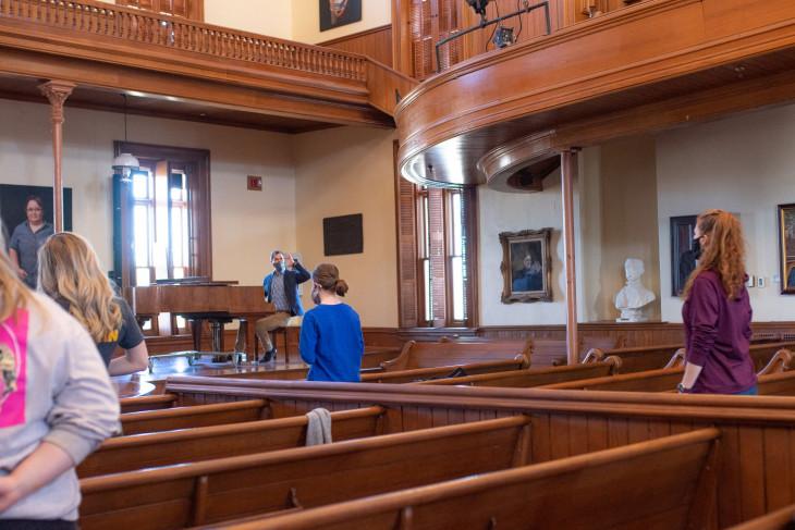 Music class with Eric Schmidt