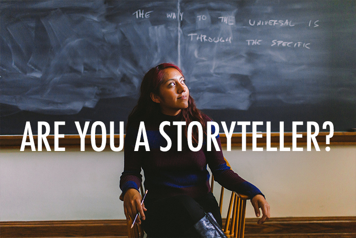 Are you a storyteller?