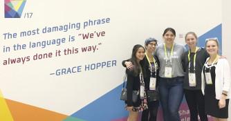 Five Women Receive Coveted Grace Hopper Celebration Scholarships (Fall 2017)