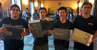 Majors Develop Multiplayer Game at Hackaton (Fall, 2014)