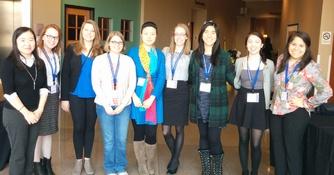 Nine AMC-W Students Attend INWIC