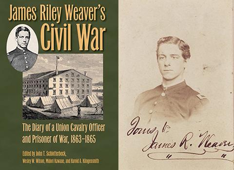 James Riley Weaver's Civil War Diary book cover