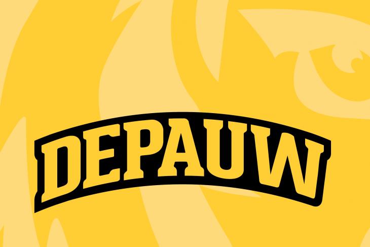 Gold Tiger Logo - DePauw Logo