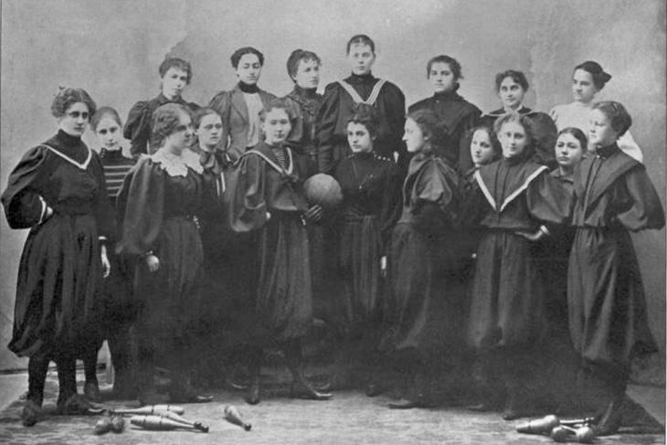 Women's Basketball in 1897