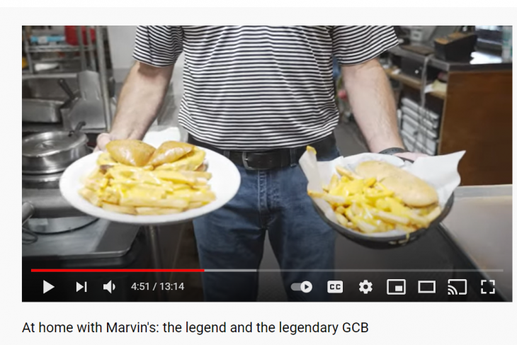 Marvin's GCB restaurant and home versions