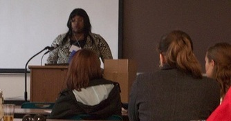 Students Attend Midwest Celebration of Women in Computing (Fall, 2009)