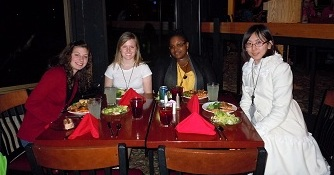 Students Attend Ohio Celebration of Women in Computing (Spring, 2011)