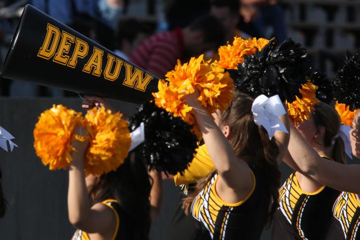 Tiger cheerleaders