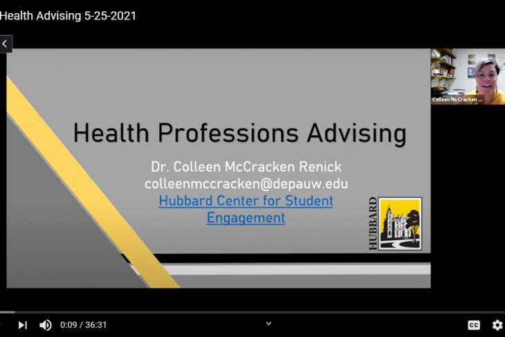 Advising Session with Colleen McCracken