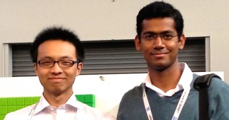 Major Wins Hackathon in Silicon Valley, Enters Startup Accelerator (Fall, 2013)