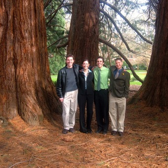 The trees in Oregon (Oregon State Univeristy, 2006) seem much bigger than those at DePauw!