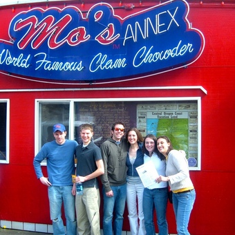 A trip to Oregon (2006) would not be complete without a visit to Mo's for some world famous clam chowder!