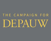 The Campaign for DePauw logo