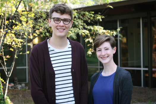 2017-2018 Graduate Fellows Conner Gordon and Eleanor Price