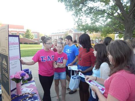 Sigma Lambda Gamma - Greek Fair 2014