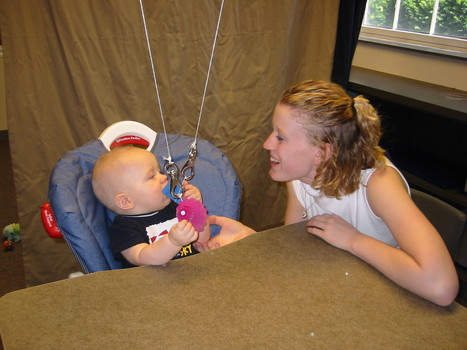 Our lab conducts experiments investigating the cognitive and emotional development of infants.