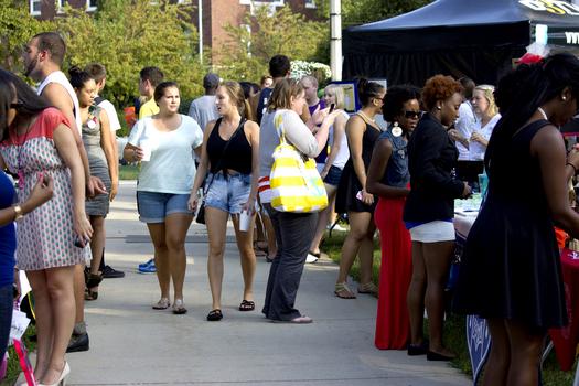 DePauw Student Activities Fair