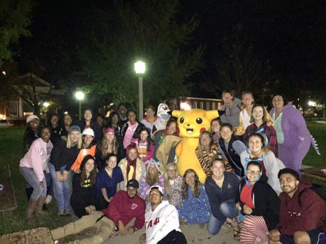 Greek Street Trick or Treat Fall 2016