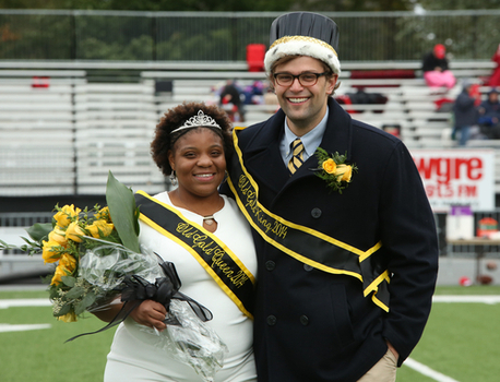 Old Gold King & Queen: Phi Kappa Psi, Johnny Bartlett & Zeta Phi Beta, Dione Gordon