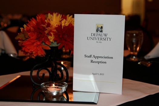 2015 Staff Appreciation Reception