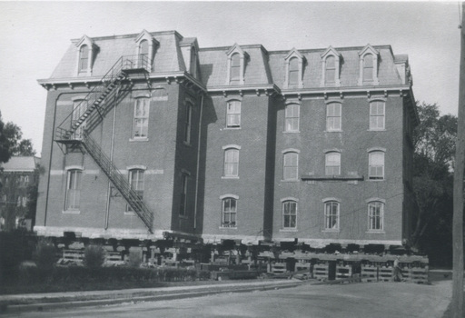 Music Hall changes location on campus - 1927
