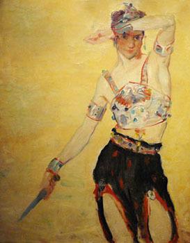 Russian Dancer by Wayman E. Adams