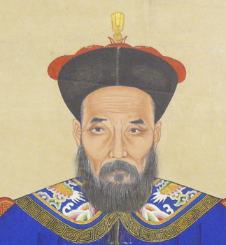 Portrait of a Man (Figure of male wearing traditional Qing cap) by Unknown Artist