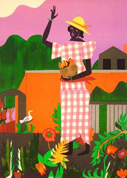 In the Garden by Romare Bearden